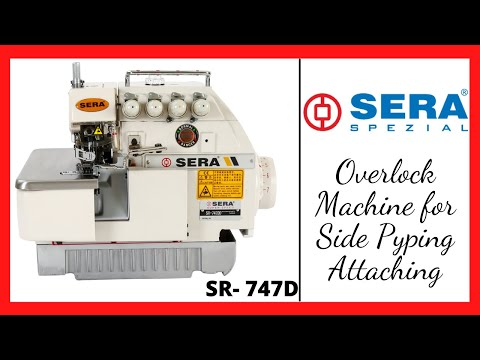 Overlock Chain Stitch Sewing Machine