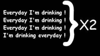 (LYRICS) Little Big   Everyday I'm Drinking