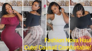 Fashion Nova Try On Haul |Casual Chic|