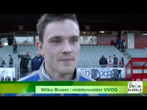 Wilko Braam uit Dronten blijft nog een jaar bij VVOG in Harderwijk