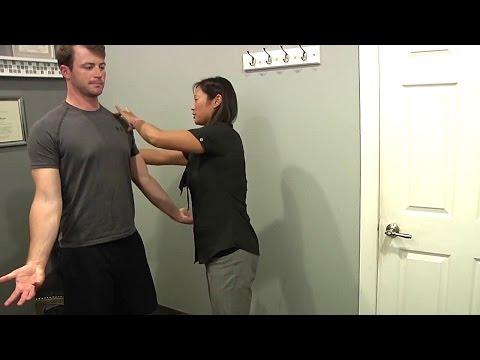Das Geräusch der Halswirbelsäule