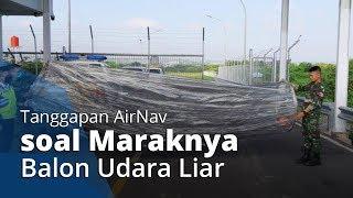 AirNav Semarang Menanggapi Balon Udara Liar Jatuh di Bandara Ahmad Yani, Disebut Sangat Berbahaya