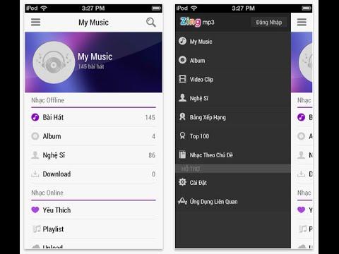 Chuyển nhạc từ ZingMp3 sang phần nhạc của iPhone