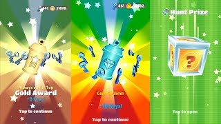 Coin Counter Diamond Award on Subway Surfers!!
