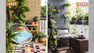 100 Cozy Balcony Garden Ideas | How To Decorate Your Balcony
