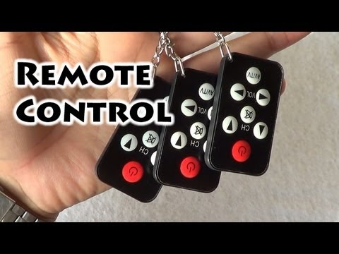 Universal TV remote control keychain - Gaak