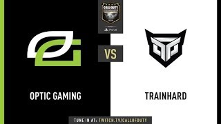 Optic Gaming vs Trainhard | CWL Champs 2019 | Day 1