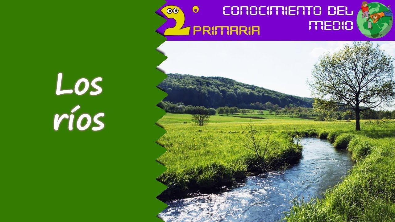 Cono, 2º Primaria. Tema 9. Los ríos