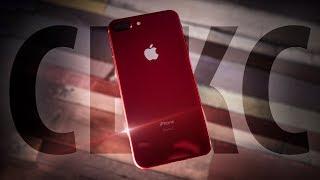 Красный iPhone 8 Plus: МИР НИКОГДА НЕ БУДЕТ ПРЕЖНИМ!!111