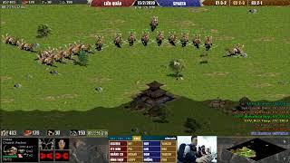 AOE 4vs4 Liên Quân vs Sparta BLV Quang Mýp