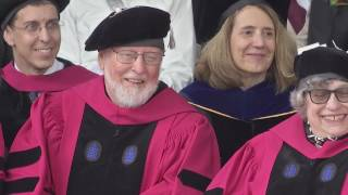 Acclaimed composer John Williams was recently honored at Harvard University with a