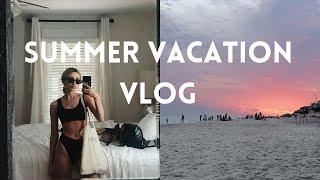 Summer vacation vlog! Alys beach , seaside , eating lots of food!