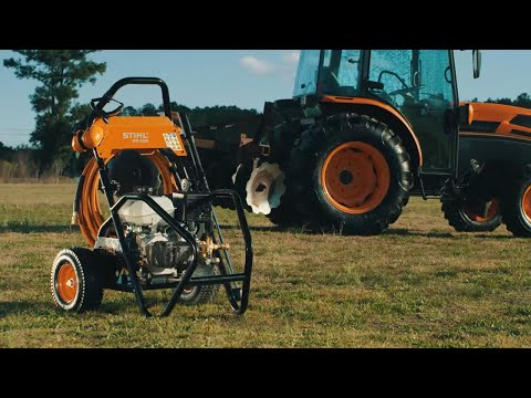 Stihl RB 600 in Fairbanks, Alaska - Video 1
