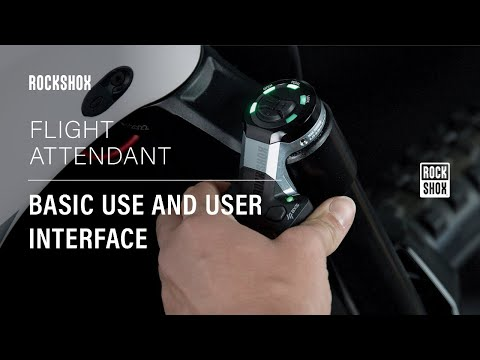 RockShox Flight Attendant: Basic Use and User Interface