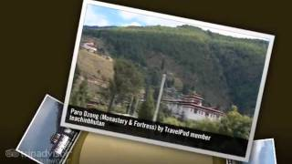 preview picture of video 'Paro Dzong - Paro, Bhutan'
