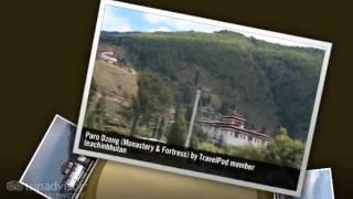 preview picture of video 'Paro Dzong - Paro, Bhutan'