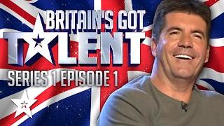Britain's Got Talent Auditions Full Episode | Series 1 Episode 1