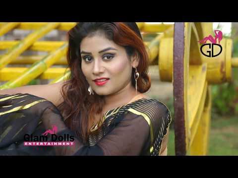 Saree Lover / Saree Fashion / Saree Shoot / Indian Beauty / SUDIPA / Black Color Saree  / Full HD