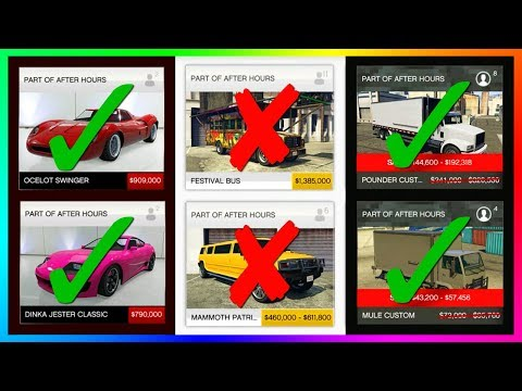 GTA Online After Hours DLC Update BUYER BEWARE - Do NOT Buy These Cars, Vehicles, Properties & MORE!