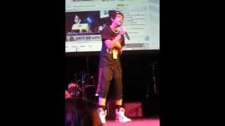 "Austin Mahone singing ""One Less Lonely Girl"" by Justin Bieber at PlaylistLive 3/27/11"