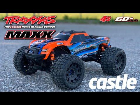 6S Traxxas Maxx is a BEAST!