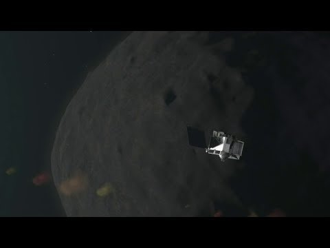 WOW: NASA touches an asteroid