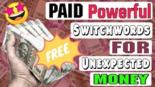 Get Rich Fast In 1 Week Guaranteed | Switch Words For Money with PAID Tips