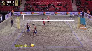 Mol.A/Sørum (NOR) vs. Walkenhorst/Winter (GER) Pool Play FIVB 4-Star The Hague 2019