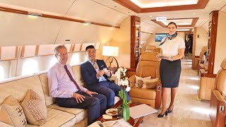 Inside World's 5 Fastest & Most Luxurious Private Jets