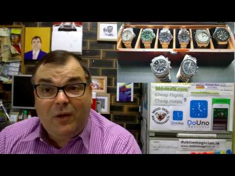 PAID WATCH REVIEWS – Gene's Watch Collection spoiled by a Hublot