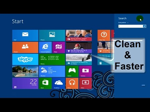 How to Clean your Computer and Make it Faster!!! & Make Windows 8.1 Super Fast -  Free & Easy