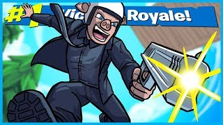 JOHN WICK 360 DEAGLE VICTORY ROYALE in Fortnite: Battle Royale! (Fortnite Funny Moments & Fails)