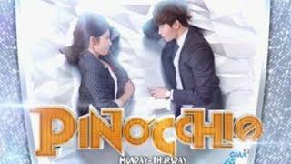 "Pinocchio❤️ on GMA-7 Theme Song ""Pwede Ba"" 3logy MV with lyrics"