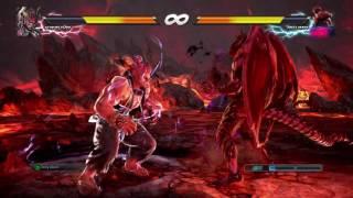 TEKKEN™7 Special Chapter Akuma Uses Rage Art At Half Health