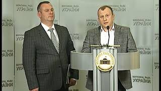 Брифінг 27.02.2018 Роман Мацола, Андрій Шинькович