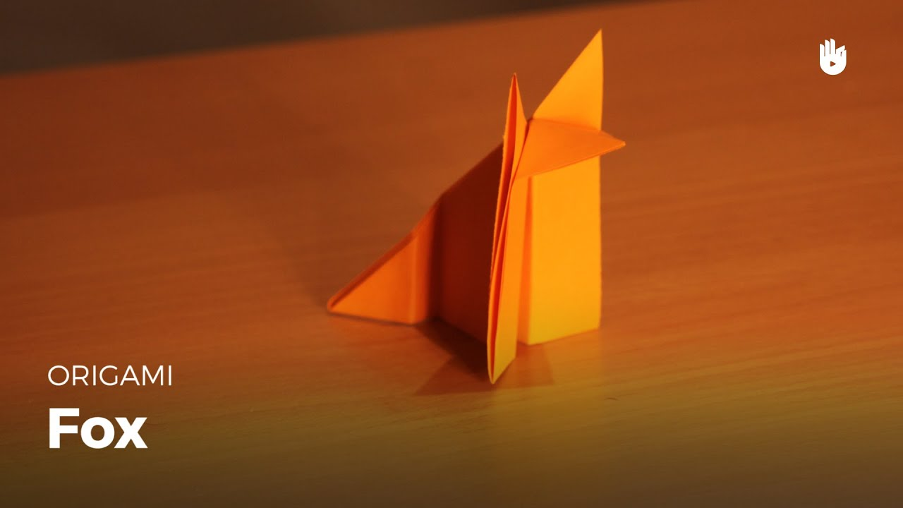 origami fox learn how to make origami sikana