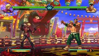 King of Fighters XIII All Desperation Moves