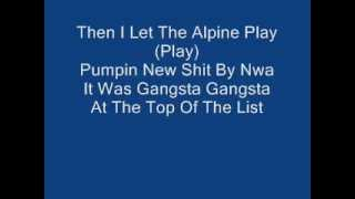 eazy e the boyz N the hood (remix) feat nwa with  lyrics 1986