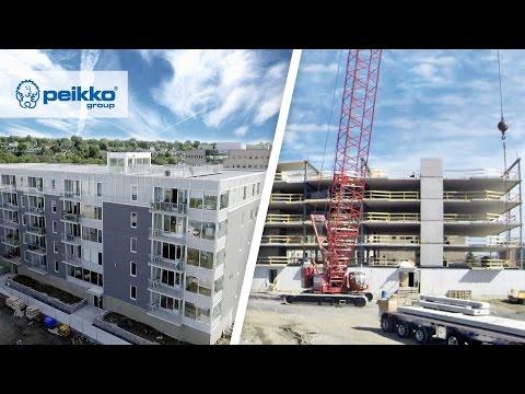 DELTABEAM® Composite Beam | Peikko Group