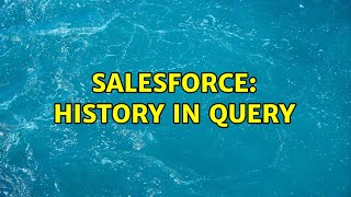 Salesforce: History in query