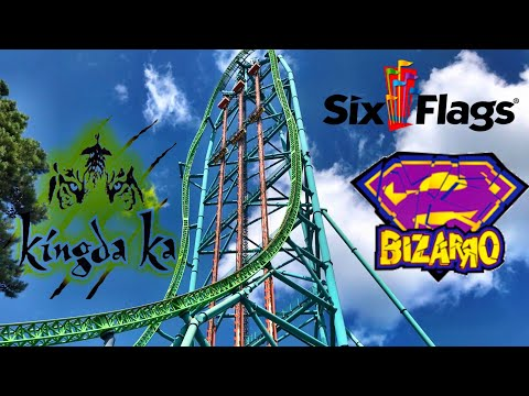 Six Flags Great Adventure Kingda Ka and Bizarro BACKSTAGE Tours!