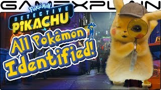 ALL the Pokémon Hiding in Detective Pikachu's 2nd Trailer!