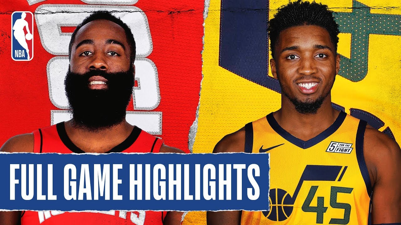 Houston Rockets vs Utah Jazz [Sat, Feb 22, 2020]