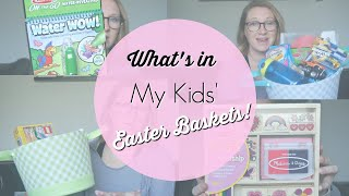 What's In My Kids' Easter Baskets?! | Easter Ideas For Ages 1, 4 & 6!