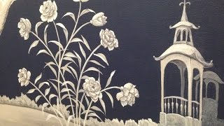 Chinoiserie Mural Time Lapse-Artisan Rooms