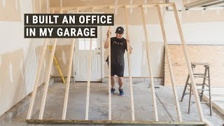 I Built An Office In My Garage (and Still Have Room To Park Our Van)!