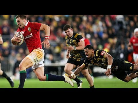 MATCH HIGHLIGHTS : Hurricanes v British & Irish Lions