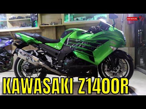 KAWASAKI Z1400R COMPLETE REVIEW | SUPER SPORT BIKE | BIKE MATE PK