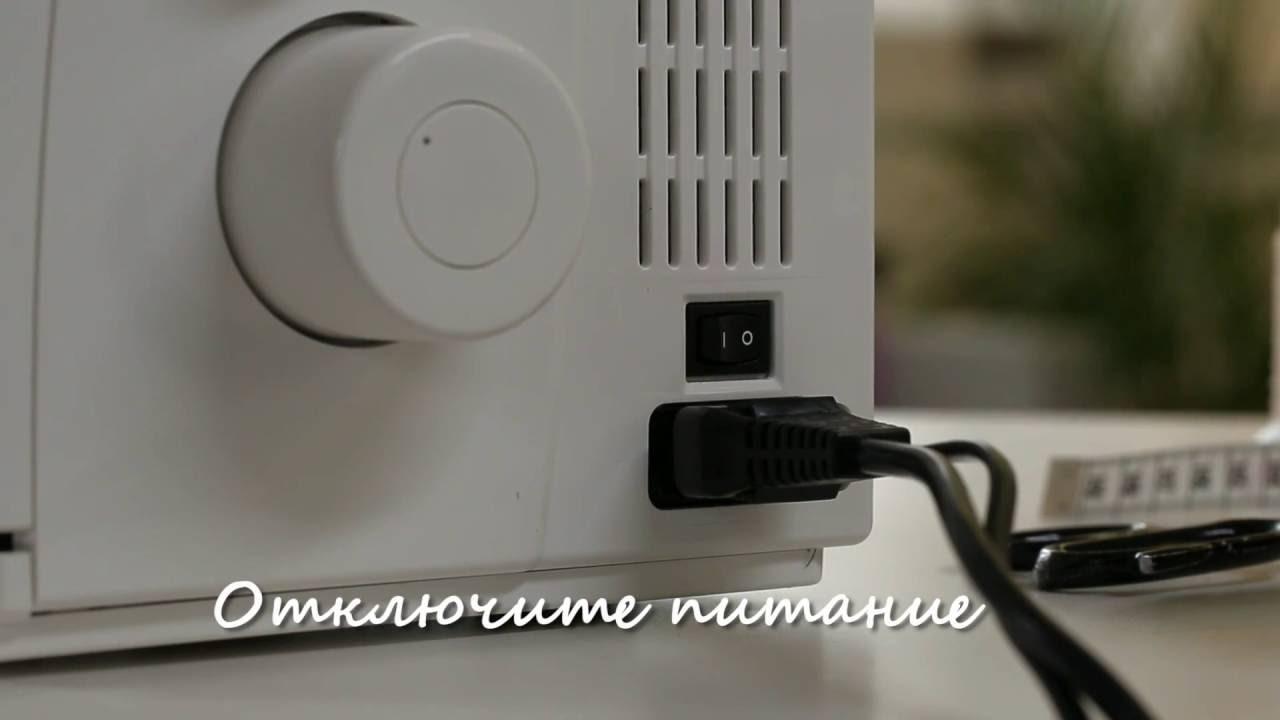 BERNINA L 450: Видео инструкция 2/8