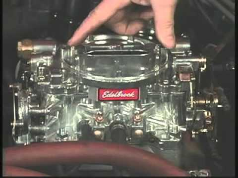 Edelbrock Carburetor Troubleshooting